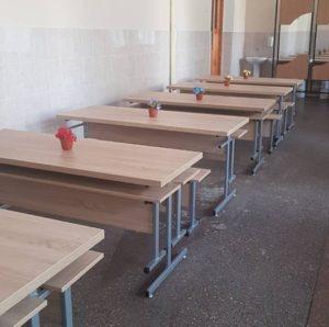 Mobilier noi pentru Liceul Teoretic C. Sibirschi