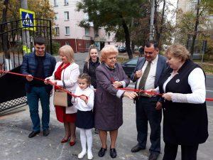 """Încă o realizare a Direcției educație, tineret și sport sectorul Centru – gard nou la Liceul Teoretic """" Titu Maiorescu """" !"""