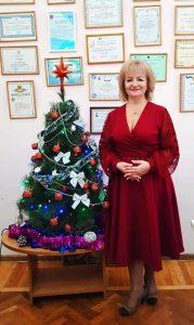 Mesaj de felicitare cu ocazia Anului Nou 2020 din partea dnei Natalia Strajesco, șef DETS sectorul Centru
