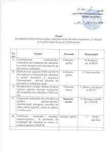 Planul de acțiuni privind profilaxia gripei, infecliilor acute аlе сйilоr respiratorii, qi infectiei сu Coronavirusul de tip nou (2019-nCoV)
