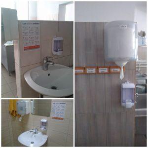 Produse de dezinfecție și protecție contra COVID-19 pentru grădinițele din sectorul Centru