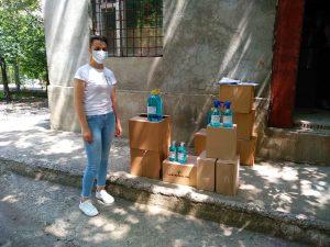 Continuăm repartizarea produselor sanitaro-igienice  în grădinițele sectorului Centru