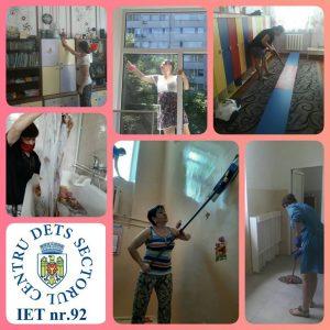 Angajații din grădinițe continuă să muncească și pregătesc instituția pentru redeschidere