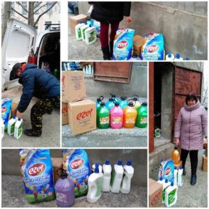 Instituțiile de educație timpurie din sectorul Centru și-au completat rezervele de produse sanitaro-igienice