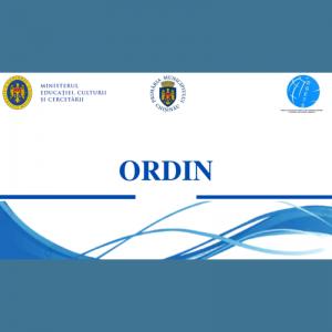 Ordinul MECC nr. 1069/2020