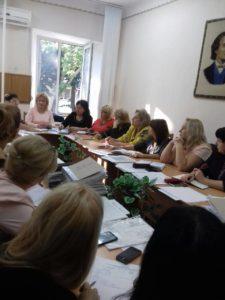 Şedinţa cu managerii instituţiilor preşcolare